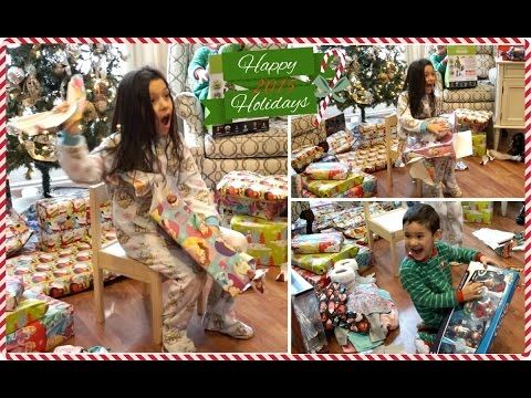 kids opening christmas presents 2015 - Google Search Christmas