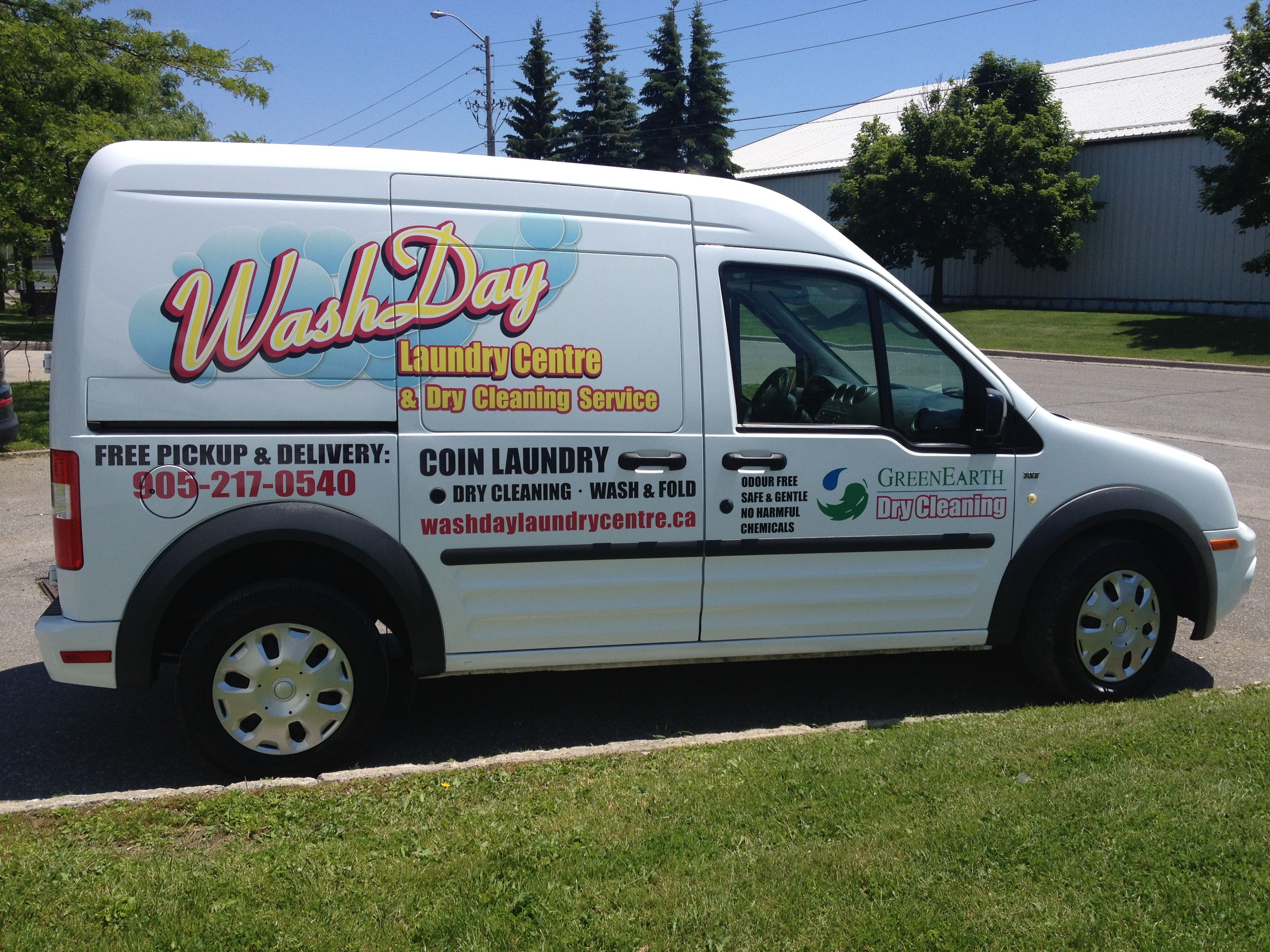 This 2012 Ford Transit Connect Xlt Van Wrap Completed By Speedpro