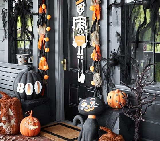 halloeen decorating via pottery barn - Pottery Barn Halloween Decorations