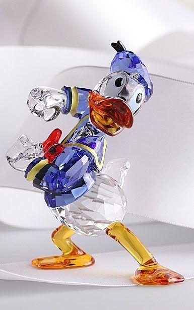 7bcd49809 Swarovski Crystal, Disney Donald Duck   jewerly   Swarovski crystal ...