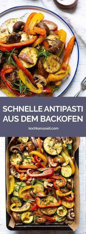 Italienische Antipasti selber machen Rezept - Kochkarussell #foodanddrink