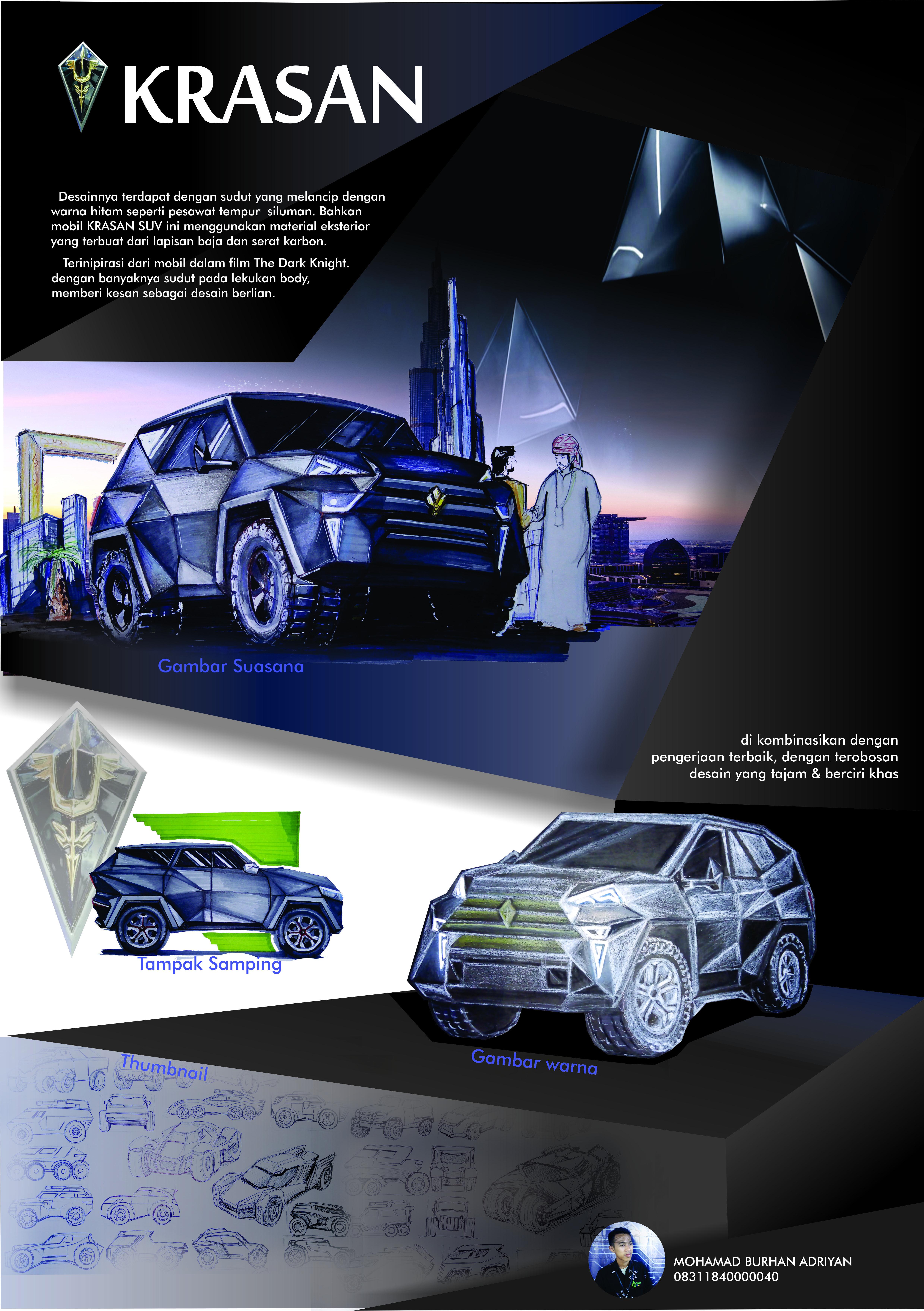 Poster Car Concept Poster Mobil Desain