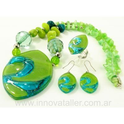 4e38aff90260 Jewelry Bisuteria y accesorios en vitrofusion - ventas por mayor - Innova -  Preview 5