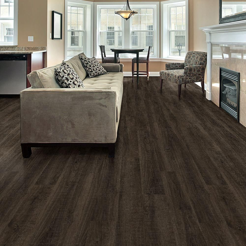 Plastic Flooring For Home: TrafficMASTER Allure 6 In. X 36 In. Clarksville Oak Luxury