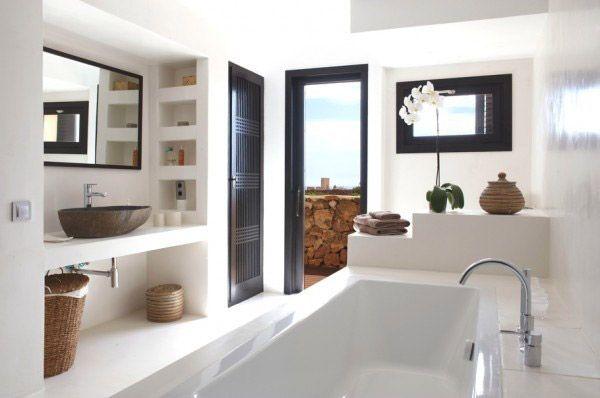 Bano Ibicenco Buscar Con Google Bathroom Design Bathroom Interior Design Modern Bathroom Design