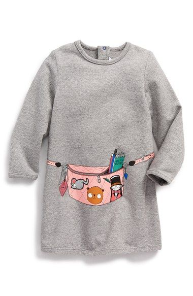 04ae0cd79 LITTLE MARC JACOBS Fleece Dress (Baby Girls) available at #Nordstrom ...