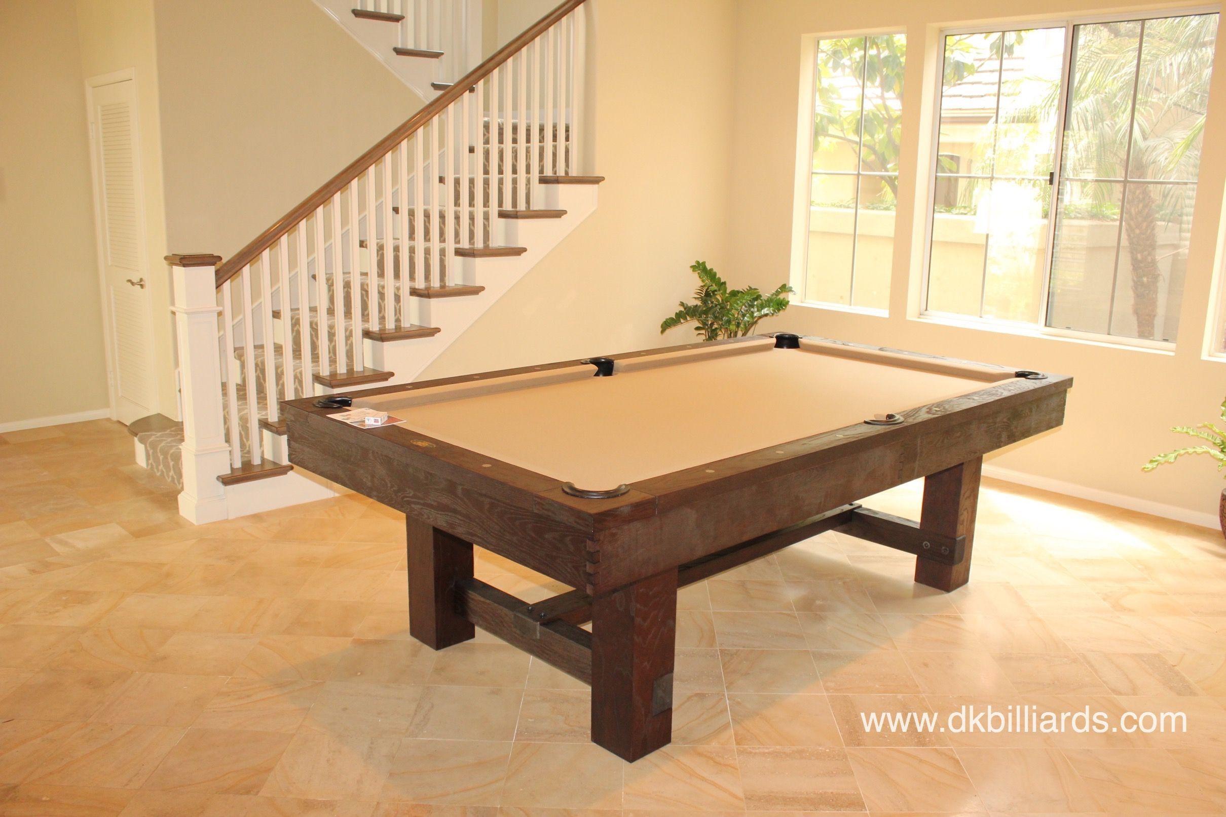 Rustic Pool Table For Beach House Ideias