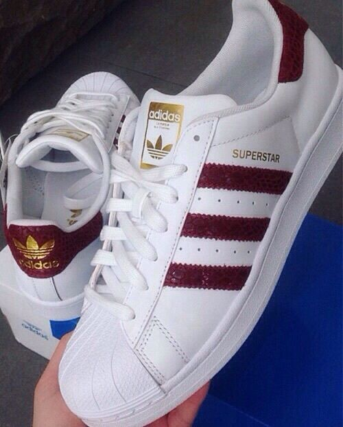 adidas superstar bordeau
