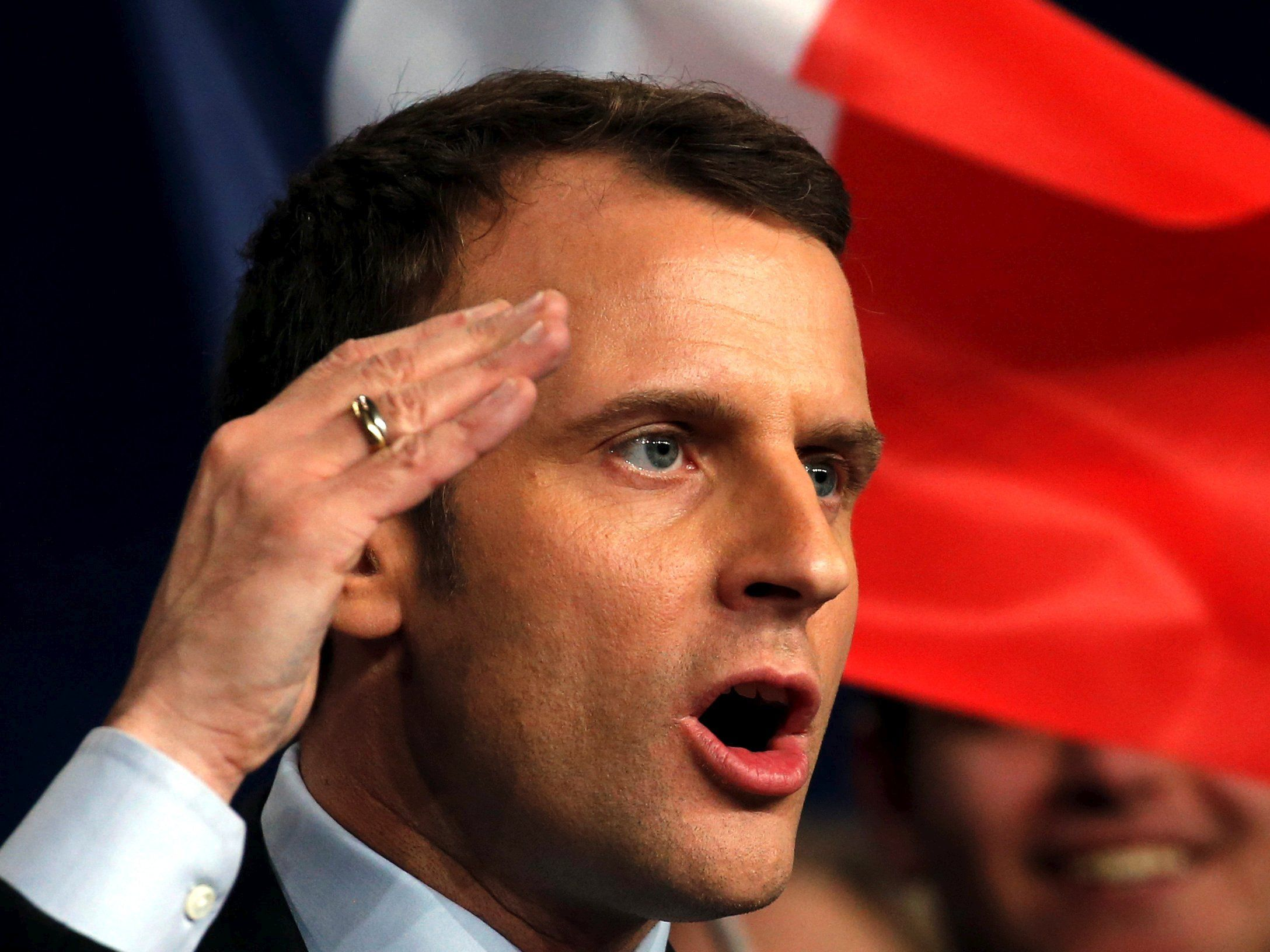 French election candidate Emmanuel Macron files lawsuit over 'cyber misinformation'