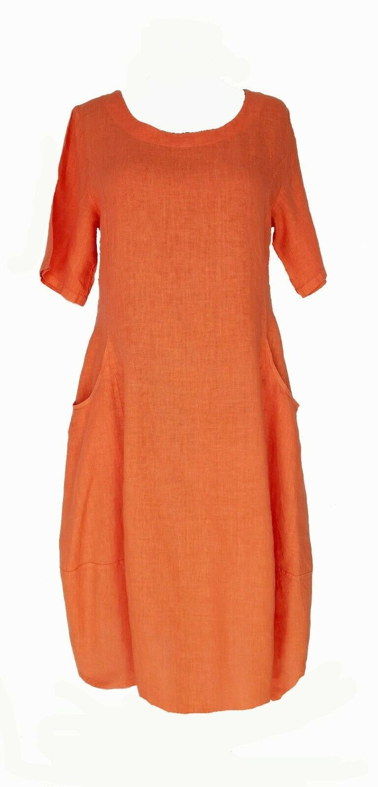 Pin on Orange Kleid