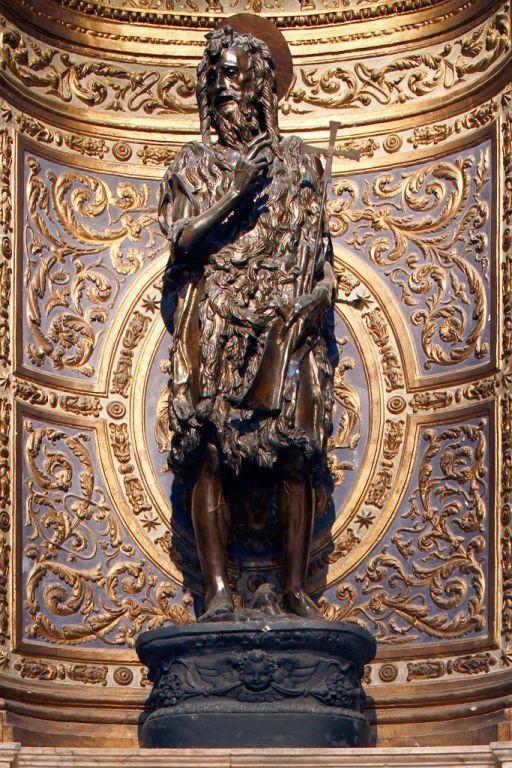 Donatello Saint Jean Baptiste Avant 1457 Bronze Sienne Cathedrale Sant Maria Assunta Chapelle Saint Jean Baptiste Donatello Siena Giovanni