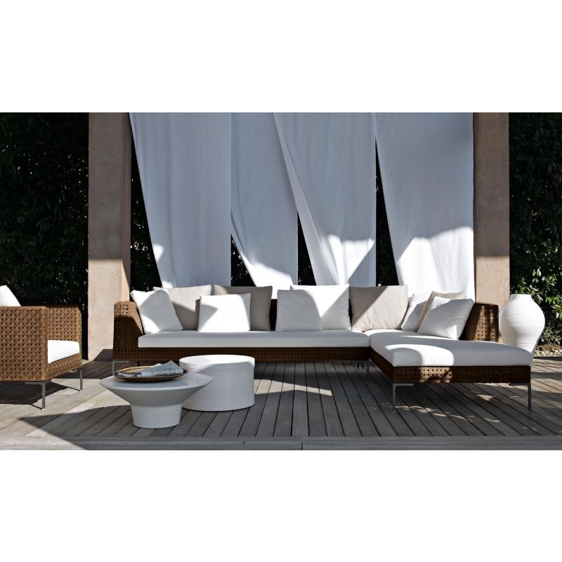 Charles Outdoor Endelement links von BB Italia, Outdoor Gartenmöbel - designer gartensofa indoor outdoor