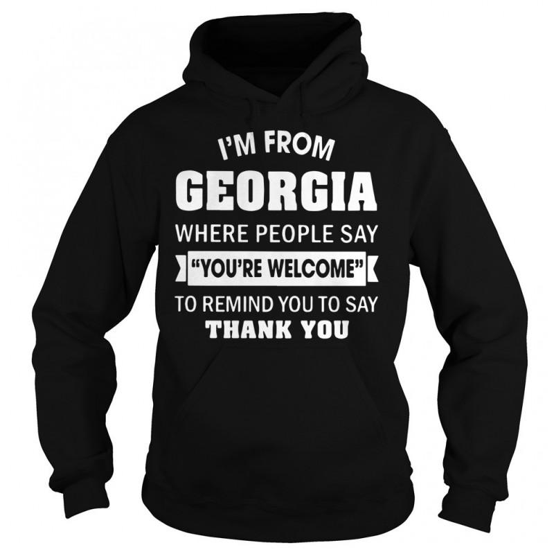 This is What an AWEASOME Georgia Looks Like Hoodie Black