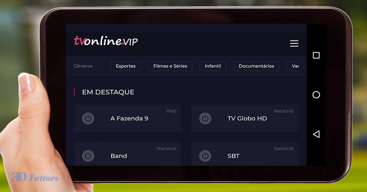 Tv Online Vip V1 0 Apk Aplicativo De Entretenimento Filmes