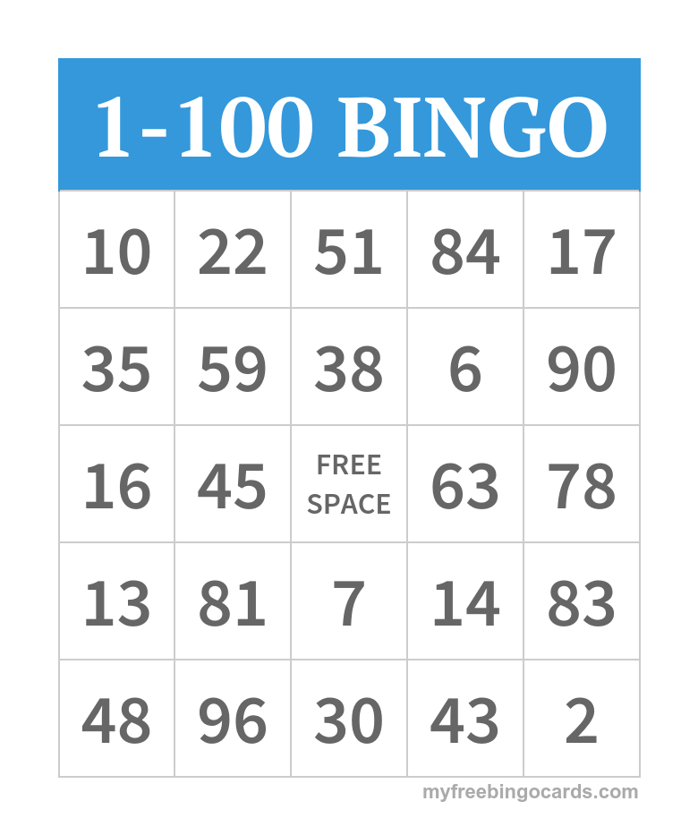 picture about Free Printable Bingo Cards With Numbers called Cost-free Printable Bingo Playing cards product system Bingo card