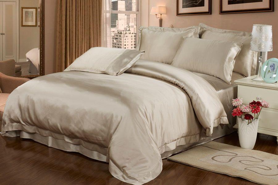 housse couette en soie housse couette soie literie en. Black Bedroom Furniture Sets. Home Design Ideas