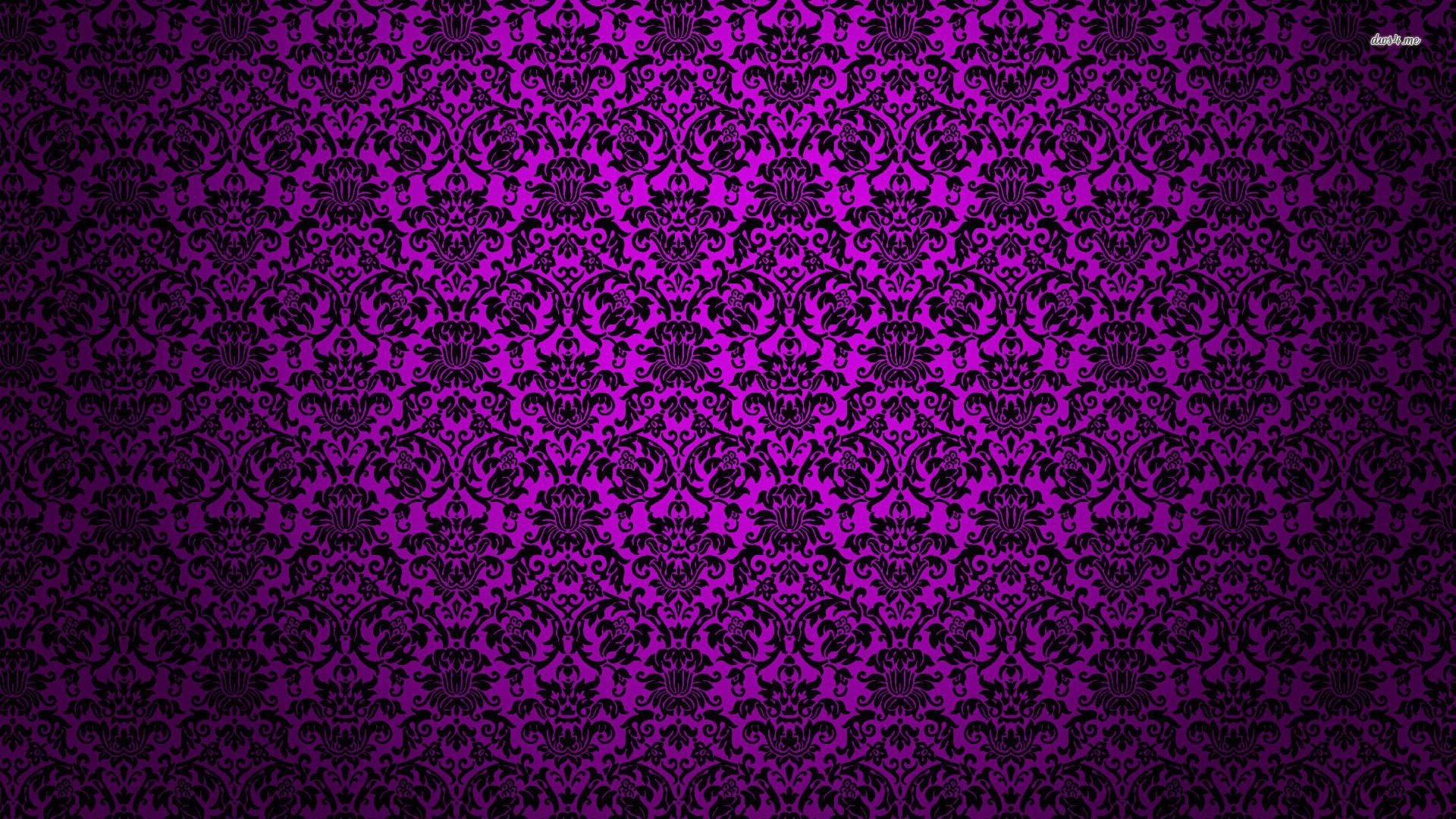 wallpaper patterns | Purple Vintage Pattern wallpapers HD ... - photo#40