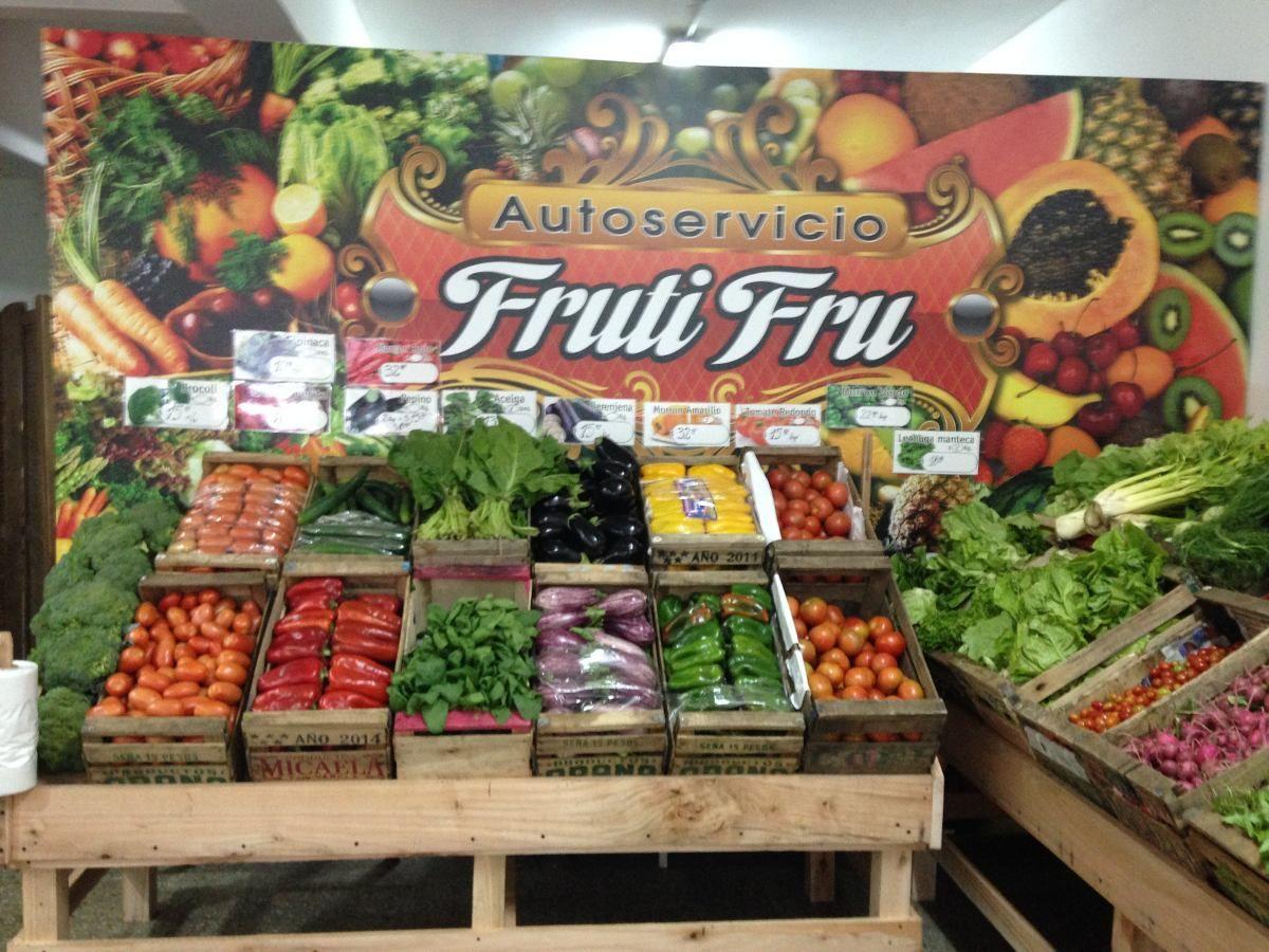 Excelente Autoservicio De Frutas Y Verduras En Venta Con Imagenes