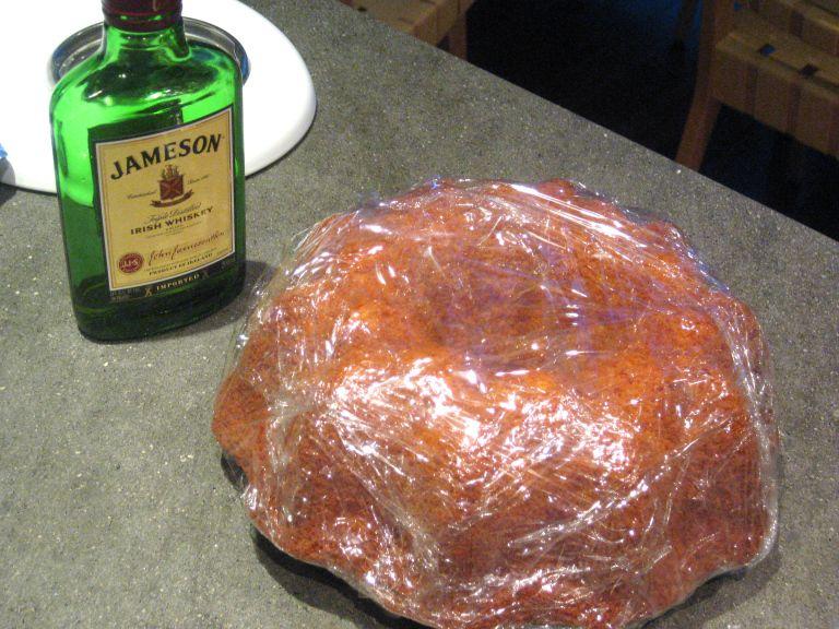 jameson whiskey cake