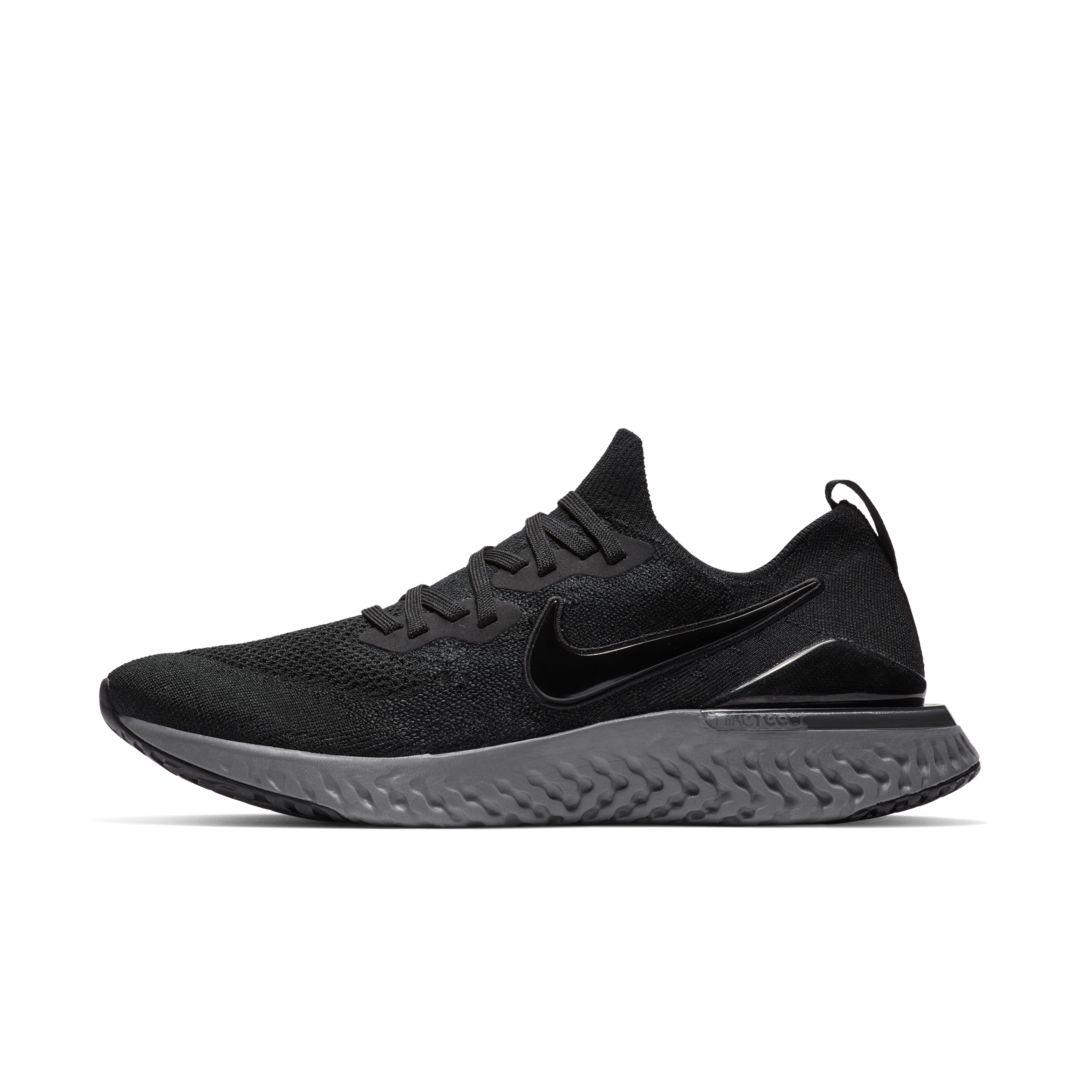 15ee0e5604ff8b Nike Epic React Flyknit 2 Men s Running Shoe Size 12.5 (Black) in ...