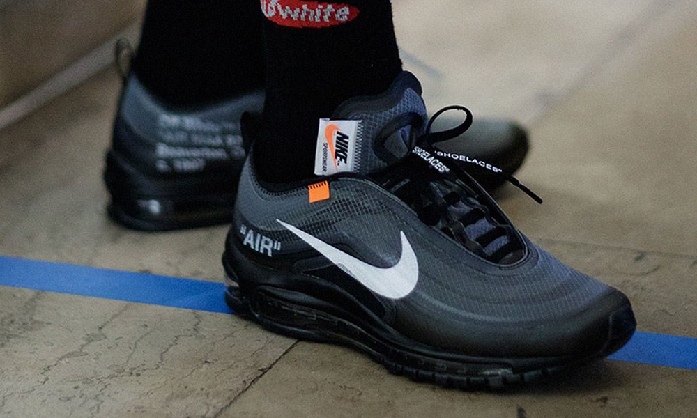 OFF-WHITE x Nike Air Max 97 Black   Menta  Sold Out Everywhere ... bff188d66