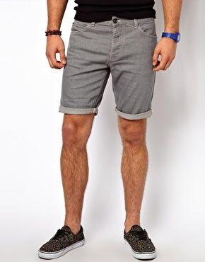 ASOS Denim Shorts In Skinny Fit   ♥ Men Fashion ♥   Pinterest