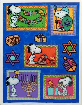 Chanukah Snoopy 3 Snoopy Holidays