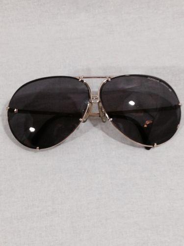 5cc7c68058cc Porsche Design by Carrera 5621 Vintage Sunglasses 80s gold grad aviator