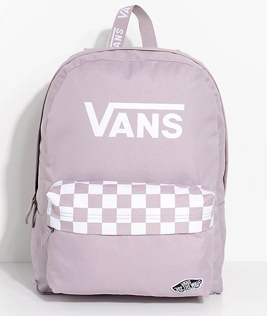 10cc8519b4 Vans Realm Sporty Sea Fog 22L Backpack in 2019