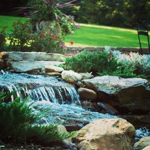 Atlantic Water Gardens manufactures professional-grade water feature equipment for do-it-yourselfers and professional contractors alike. Follow them on Instagram for home landscaping inspiration or just because you love water features!