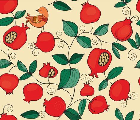 Pomegranate Print <3