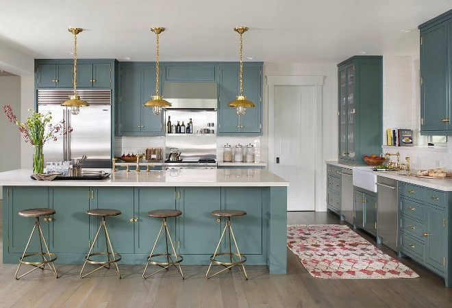Best Farrow And Ball 47 Green Smoke The Cabinetry Is Painted 640 x 480