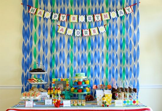 Party Decorating Ideas With Streamers crepe paper is a very inexpensive way to decorate for parties