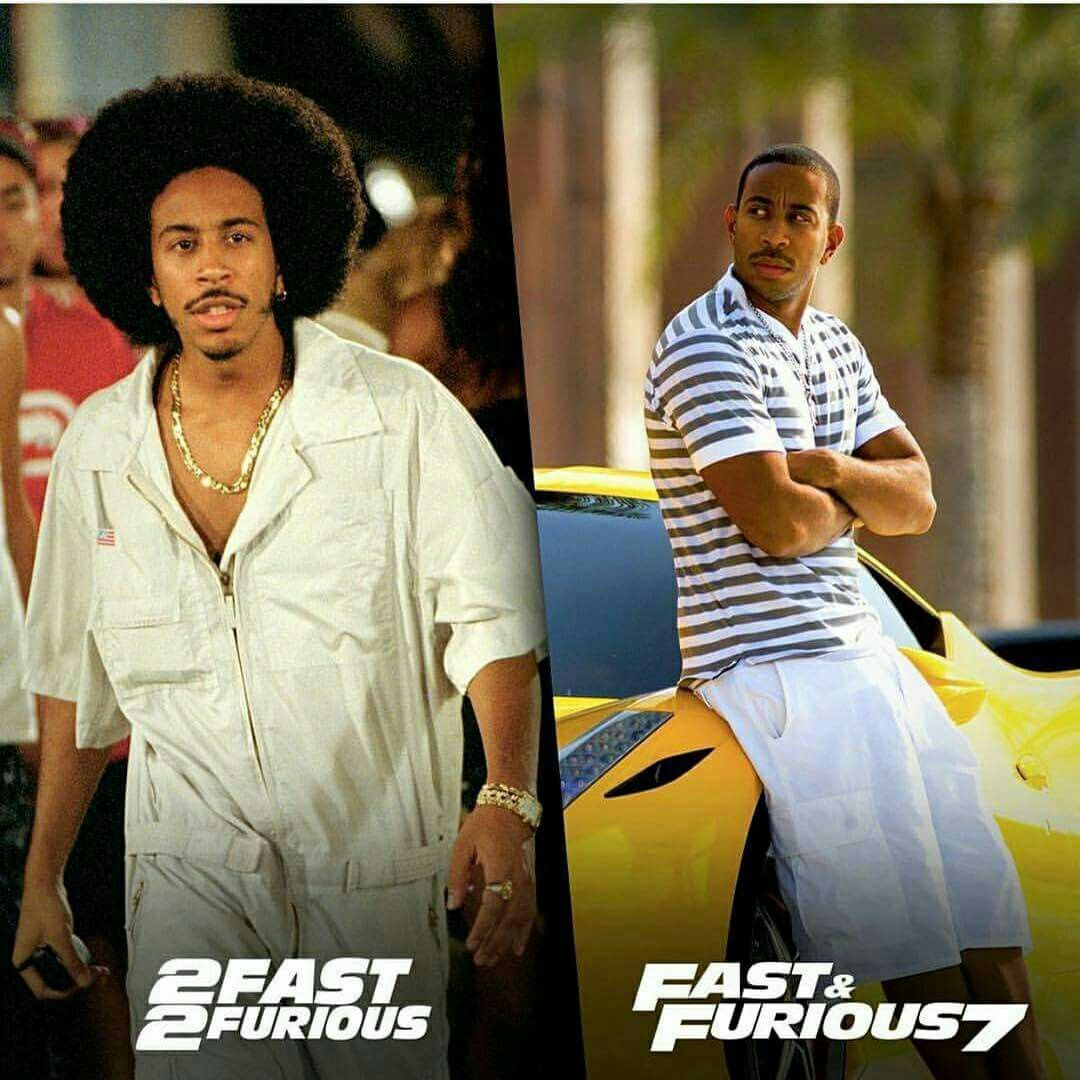 Chris Ludacris Bridge As Tej Parker Starring In 2 Fast 2 Furious And Fast Furious 7 Promis