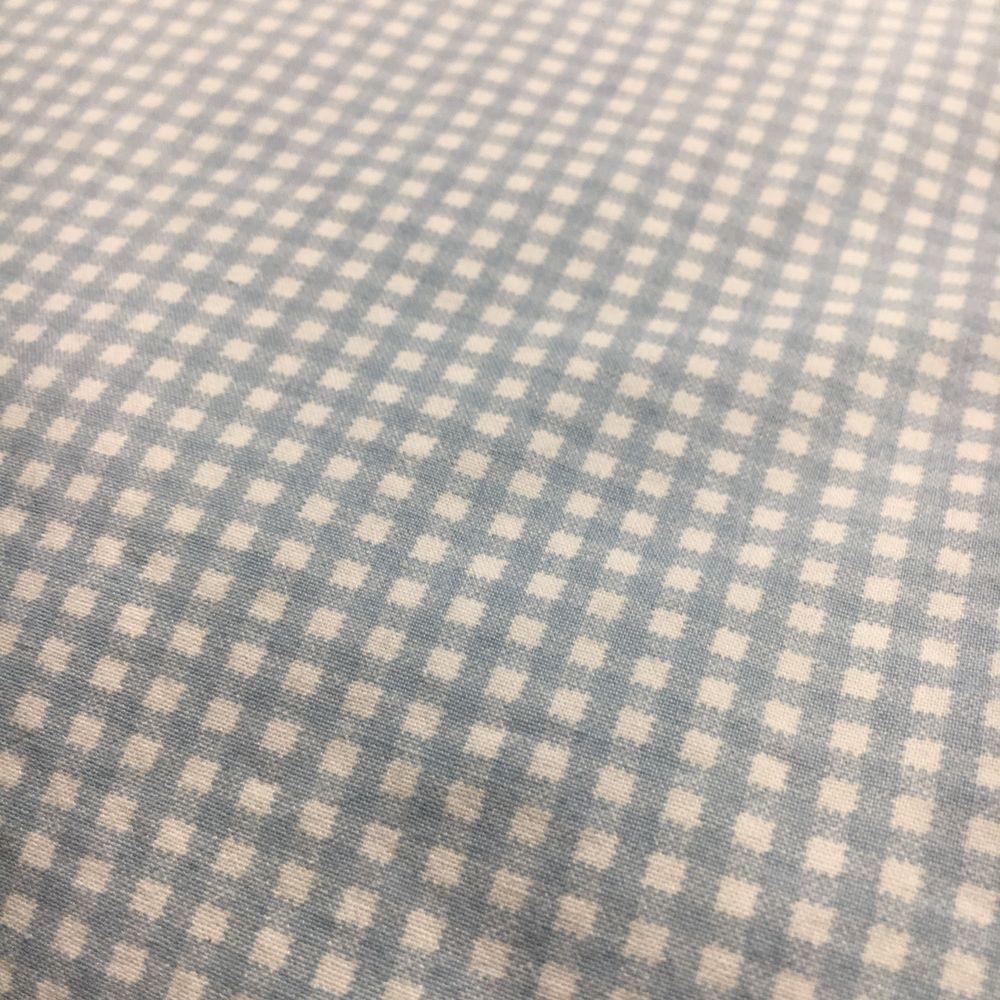 Ralph Lauren Light Blue Gingham Checked Queen Ed Sheet Ebay