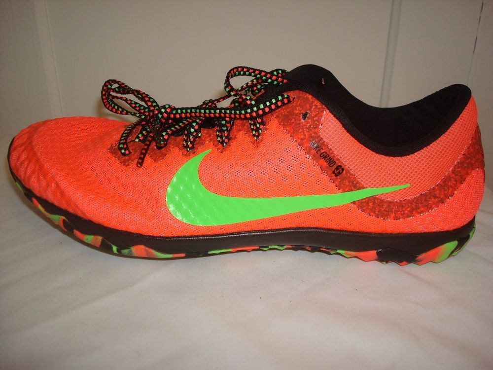 Nike Rival XC Men's Cross Country Track Spikes Pink Yellow Women's MSRP  NEW