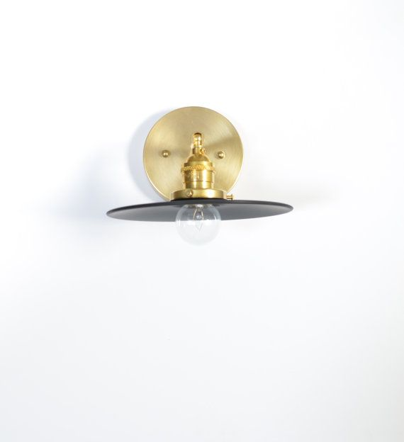 Hattie Description The Hattie Bird Sconce This Shaded Bulb Sconce Is A Play On Metals And Wood Ma Wall Sconces Bedroom Black Wall Sconce Wall Sconce Lighting