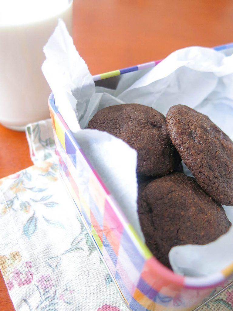 Esses biscoitos amanteigados, com sabor intenso de chocolate e um toque de sal são simplesmente viciantes