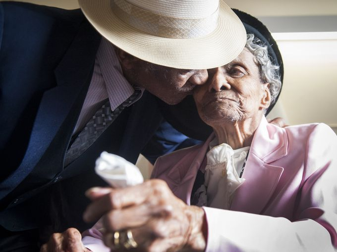 William, 98, and Willie Mae Fullwood, 101, both of