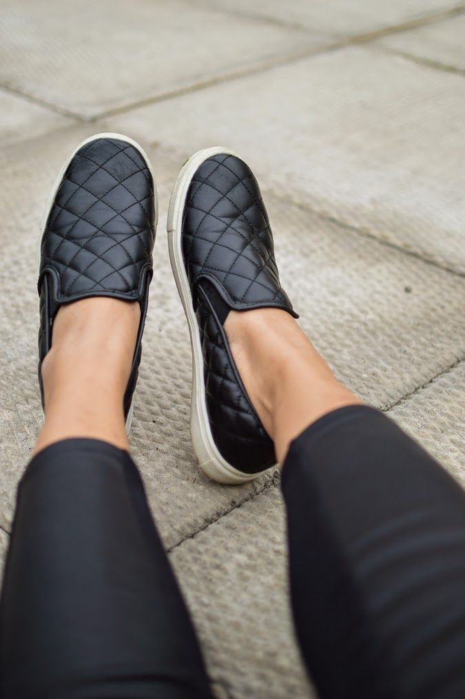 Black Quilted Shoes Target