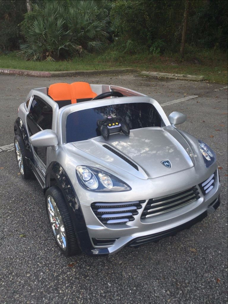 Porsche Cayenne Style 12v Ride On Cars For Children S With Leather