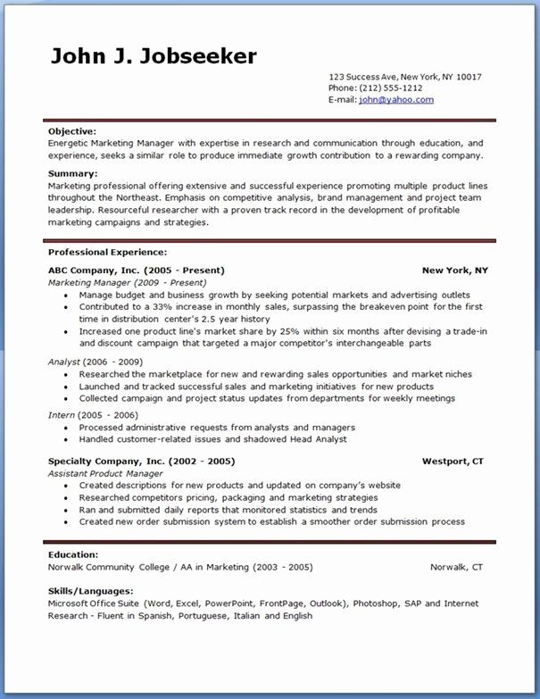Resume Templates Free Word New Ginger Account Manager Resume Template Free Online Resume Template Downloadable Resume Template Download Resume