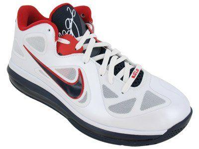 Nike Mens NIKE LEBRON 9 LOW BASKETBALL SHOES