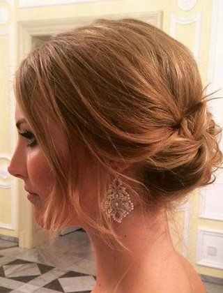 60 Creative Updo Ideas For Short Hair Short Hair Styles Easy Hair Styles Short Hair Updo