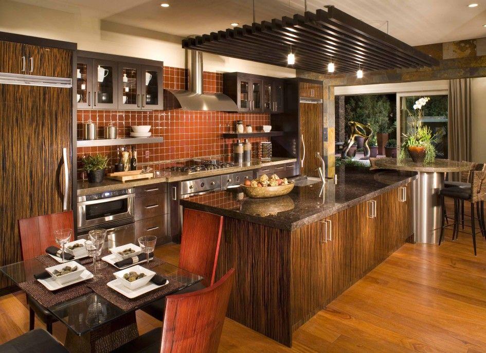 interior european kitchen design kitchen island integrated with dinnete table ceramic tiles on kitchen ideas european id=96790