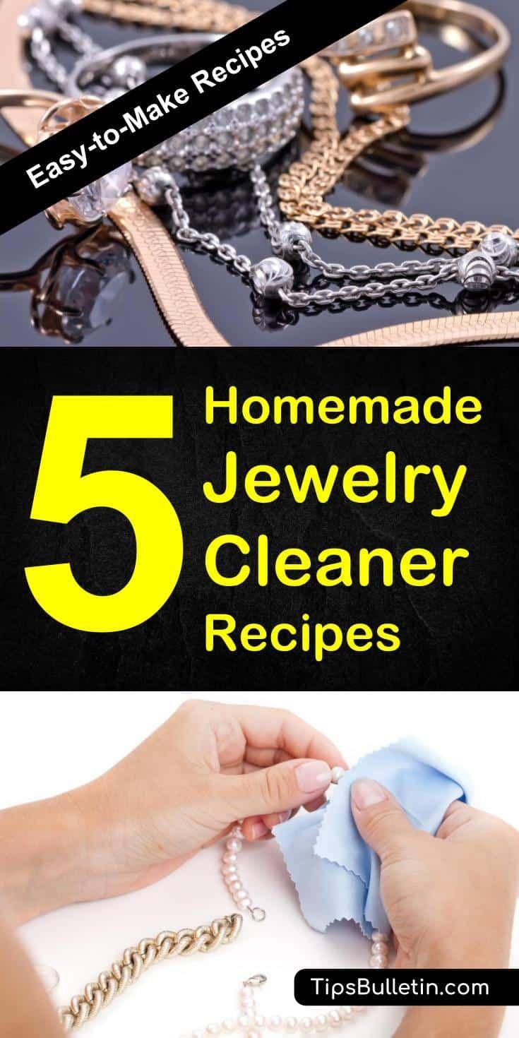 5 amazing homemade jewelry cleaner recipes homemade