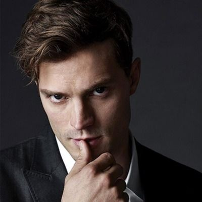 His eyes the darkest slate. Jamie Dornan is Christian Grey. | Fifty Shades of Grey | In Theaters Valentine's Day