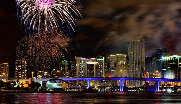 New Years Eve 2017 In Magic City Of Miami New Years Eve Miami New Year Fireworks New Years Eve Fireworks