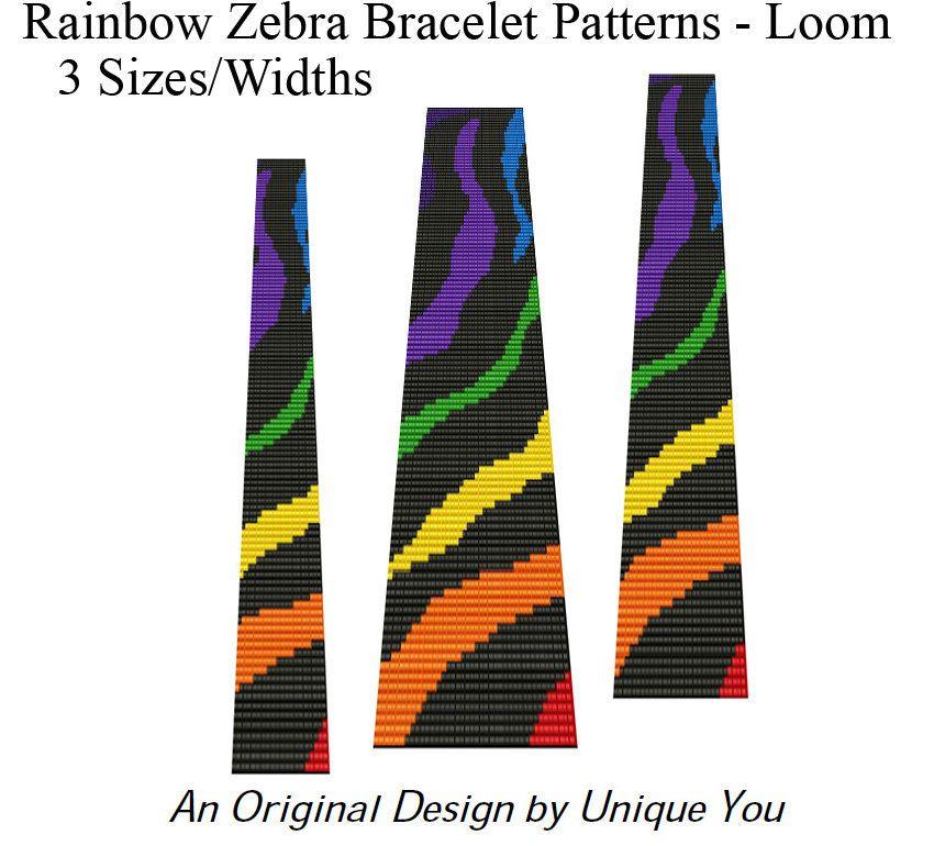 Beading Patterns Loom Bracelet Square Stitch - Fun ...