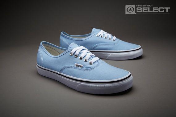 c2886d7b3a Vans Authentic - Mens Select Footwear - Placid Blue-True White
